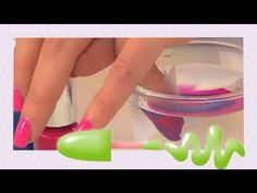 Tutorial di nail art - Come fare la marble nail art con l'acqua - Nail l...