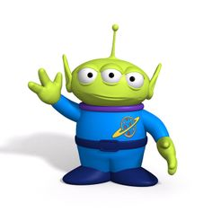 alien from toy story Toy Story Theme, Toy Story Birthday, Toy Story Party, Alien Do Toy Story, Toy Story Buzz, Disney Toys, Disney Art, Disney Pixar, Festa Toy Store