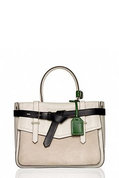 10 Ultra-Chic Bags That'll Make You Want To Work Overtime—Reed Krakoff Boxer Bag, $1,690, available at Reed Krakoff.