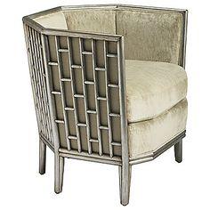 fretwork lounge chair...