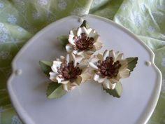 Handmade Paper Flowers by annafearer - Cards and Paper Crafts at Splitcoaststampers