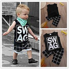 $4.79 (Buy here: https://alitems.com/g/1e8d114494ebda23ff8b16525dc3e8/?i=5&ulp=https%3A%2F%2Fwww.aliexpress.com%2Fitem%2F2pcs-NEW-Boys-Kids-Short-Sleeveless-T-shirt-Pants-Outfits-Summer-Casual-Clothes-Baby-Boys-Clothes%2F32694098654.html ) 2pcs NEW Boys Kids Short Sleeveless T-shirt Pants Outfits Summer Casual Clothes Baby Boys Clothes Set Boys Clothing Set for just $4.79