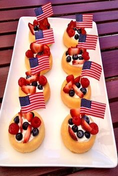 Star Spangled Shortcakes - My Shop Fourth Of July Decor, 4th Of July Celebration, 4th Of July Party, July 4th, 4th July Food, Fourth Of July Cakes, Patriotic Desserts, 4th Of July Desserts, Summer Desserts
