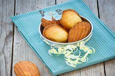 Madeleines miel-citron-amande