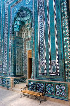 Samarkand – Treasure of the Silk Road in Uzbekistan Islamic Architecture, Beautiful Architecture, Beautiful Buildings, Art And Architecture, Architecture Details, Islamic World, Islamic Art, Islamic Decor, Beautiful Mosques