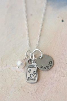 my treasure necklace {pewter} | Lisa Leonard Designs
