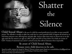 MYTHS OF CHILD SEXUAL ABUSE -- The Leadership Council prepared this analysis because we believe that society as a whole benefits when the public has access to accurate information regarding child abuse