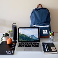 "Thanks to our friends at Herschel we will be giving away a new 15 ""MacBook Pro! Dog Gadgets, Tech Gadgets, Office Gadgets, Travel Gadgets, Electronics Gadgets, Kitchen Gadgets, Macbook Air Stickers, Macbook Pro, Apple Office"