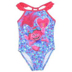 Baby Shark Toddler Girls One Piece Swimsuit Color Blue Sizes UPF (Ultraviolet Protection Factor) Wearable Sunblock Made From Girls One Piece Swimsuit, Two Piece Swimsuits, Toddler Girl Bathing Suit, Toddler Outfits, Girl Outfits, Boy Or Girl, Baby Girls, My Little Girl, Kids Fashion
