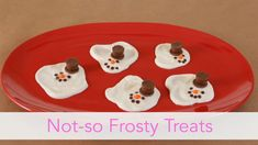 These melted snowmen will be the hit of your holiday party. Bonus: They take only minutes to prepare.