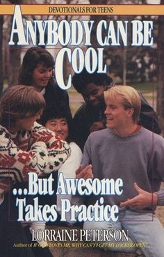 Devotionals For Teens: This was an actual book series... that I wrote! ;)