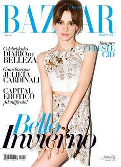 Celeste Cid for Harper's BAZAAR Argentina (June 2012 Issue)