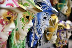 Venice Carnival Masks by Digitaler Lumpensammler, via Flickr