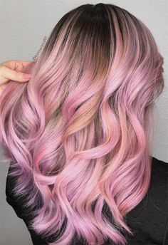 55 Lovely Pink Hair Colors: Tips for Dyeing Hair Pink - 55 Lovely Pink Hair Colors: Tips for Dyeing Hair Pink Pink Hair Colors Ideas: Tips for Dyeing Hair Pink Hair Tips Dyed Pink, Hair Dye Tips, Pastel Pink Hair, Colored Hair Tips, Hair Color Pink, Hair Dye Colors, Dye My Hair, Blonde Hair With Pink Tips, Pastel Hair Tips
