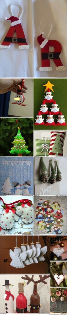 Christmas Crafts - Could do with foam pieces instead.