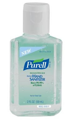 Purell 12 Count 8 Oz Floral Hand Sanitizer Gel 9674 12 Hand