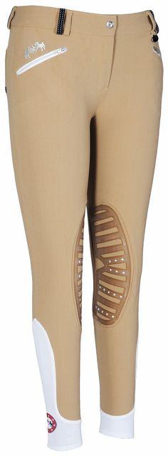 The Lexington Horse - Equine Couture Super Star Knee Patch Breeches, $71.95 (http://www.lexingtonhorse.com/equine-couture-super-star-knee-patch-breeches/)