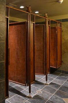 Rustic Bathroom stalls...