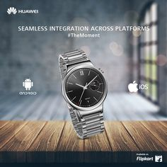 Experience seamless integration on both Android and iOS devices. Huawei Watch, Omega Watch, Ios, Android, Watches, Accessories, Wrist Watches, Wristwatches, Tag Watches
