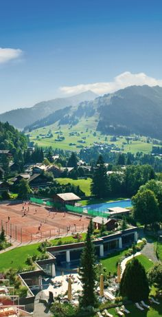 #Jetsetter Daily Moment of Zen: Gstaad Palace in Gstaad, #Switzerland