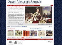 Queen Victoria's Complete Diaries Released Online