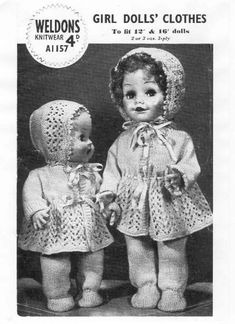 Album Archive Crochet Doll Clothes, Knitted Dolls, Girl Dolls, Barbie Dolls, Knit Crochet, Crochet Hats, Album, Doll Patterns, Knitwear