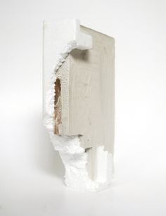 Untitled Plaster, timber, styrofoam. Alis Garlick / 2012