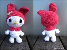 Free Crochet Pattern by Rachel Hoe of Little Yarn Friends: Lil' Melody. #Amigurumi #Kids #Toy
