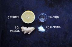 Lemonade med ingefær for dummies!