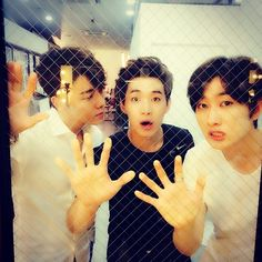 #Eunhyuk Instagram with #Donghae and #Henry