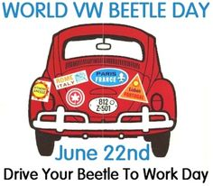 VW Beetle Day June 22nd
