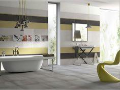 Badfliesen Ideen Grau Glasmosaik Dunkel Sanitaer Schwarz Duschkabine Regendusche  | Badezimmer Gestaltungsideen | Pinterest