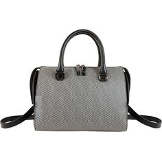Christian Siriano Vivien Satchel ($84) ❤ liked on Polyvore featuring bags, handbags, grey, shoulder strap purses, christian siriano, shoulder strap handbags, satchel handbags and grey handbags