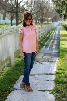 27 Days of Spring Fashion: Stitch Fix Shoes & Giveaway - Grace & Beauty