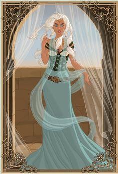 Medieval Princess Kida by ~PinkPetalEntrance on deviantART
