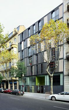 Apartment Building CASP 74,© José Hevia