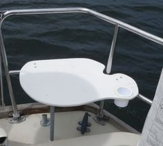 How to Make Your Own Stern Pulpit Rail Seat: Build your own stern rail seat from Starboard