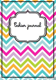 Pages, gerde, cahier journal, enseignant, école, classe French Teacher, Teaching French, Home Management Binder, Classroom Management, School Organisation, Media Communication, Teacher Planner, Cycle 3, School Life
