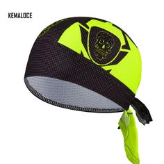 d989a6d8b5d KAMALOCE UV Protection Team Men Summer Full Sublimation Cycling Cap scarf  White Skull Bicycle Bike Bandana