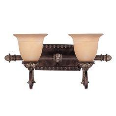 Savoy House Grenada 2-Light Moroccan Bronze Bath Vanity