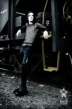 Goth boy ...