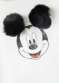 Mickey sweatshirt elbise - Kız çocuk | MANGO Kids Türkiye