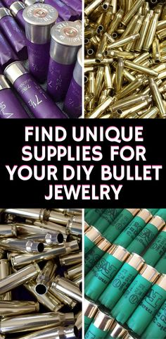 Jewelry Making Shells If you love bullet jewelry or crafting - then you'll love all these hand polished shell casings. Bullet Shell Jewelry, Bullet Casing Jewelry, Bullet Necklace, Garnet Necklace, Bullet Casing Crafts, Bullet Crafts, Ammo Crafts, Diy Crafts Jewelry, Handmade Jewelry