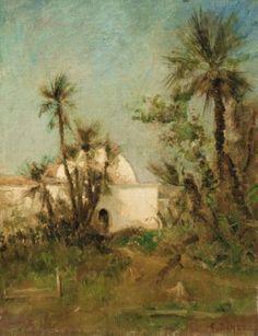 Étienne Dinet - Le Kouba de Dinet à Bou Saâda
