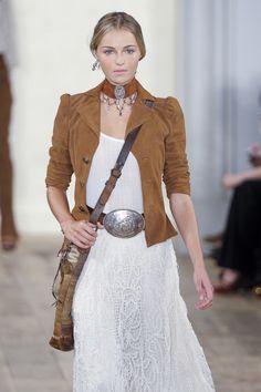 183 photos of Ralph Lauren at New York Fashion Week Spring 2011.