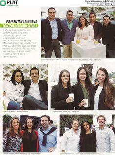 Inchcape Motors: Cóctel por  lanzamiento de BMW Serie 1 en la revista Velaverde de Perú (08/07/15)