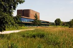 Approach. Netherlands Institute for Ecological Research (NIOO) by Claus en Kaan Architecten. Pic @svd_fotografie