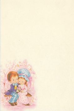 papel-de-carta-antigo casal couple vintage