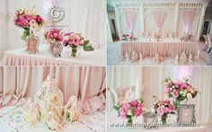 Rose Quartz wedding decorated by Maria Gabbana event group #wedding #pink #powder dusty rose пыльная роза Марина Габбана