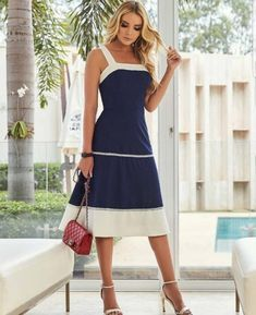 27b6e271da 31+ Vestidos Midi de Moda para lucir Elegante y con Estilo (2019)